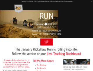 rickshawrun09e.theadventurists.com screenshot