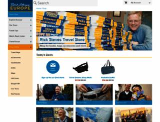 ricksteves-store.herokuapp.com screenshot