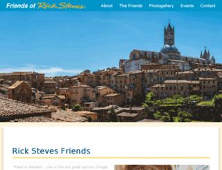 rickstevesfriends.com screenshot