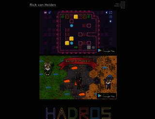 rickvanhelden.com screenshot