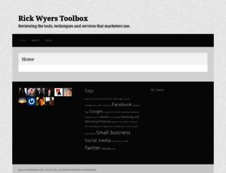 rickwyers.wordpress.com screenshot