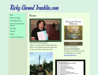 rickyfranklin.net screenshot