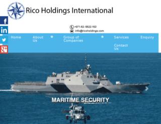 rico-holdings.com screenshot