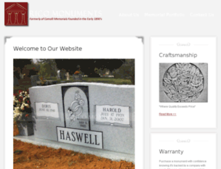 rico-monuments.com screenshot