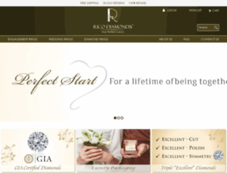 ricodiamonds.com screenshot