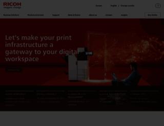 ricoh-europe.com screenshot