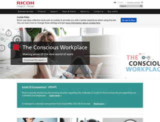 ricoh.co.uk screenshot