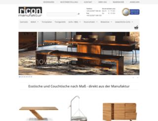 ricon-manufaktur.de screenshot