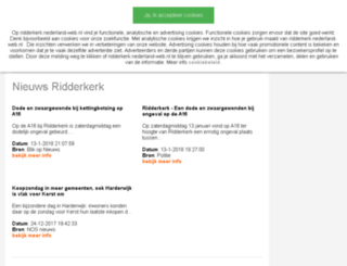 ridderkerk.nederland-web.nl screenshot