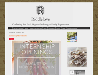riddlelove.com screenshot