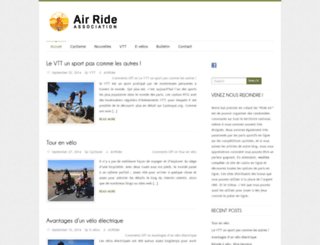ride-air.fr screenshot