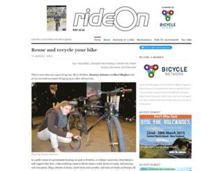 rideons.wordpress.com screenshot
