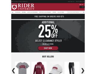 rider.bncollege.com screenshot