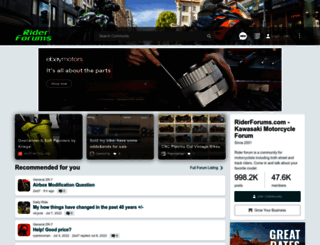 riderforums.com screenshot