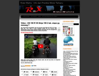 ridermatrix.wordpress.com screenshot