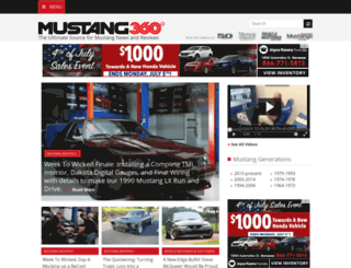 rides.mustangandfords.com screenshot