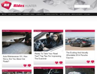 rideshunter.com screenshot