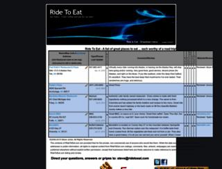 ridetoeat.com screenshot
