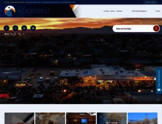 ridgecrest-ca.gov screenshot