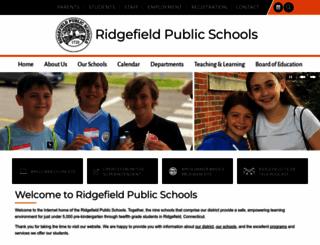 ridgefield.org screenshot