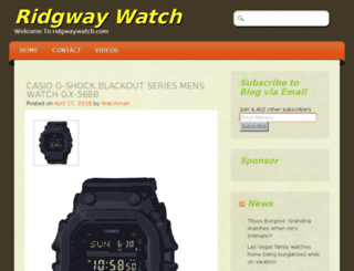 ridgwaywatch.com screenshot