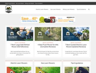 riding-mower.org screenshot