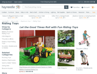ridingtoys.com screenshot