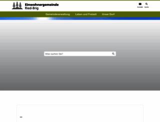 ried-brig.ch screenshot
