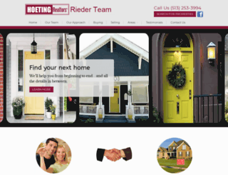 riederteam.com screenshot