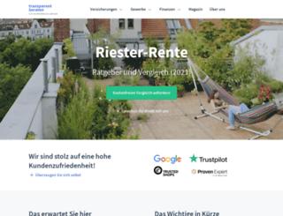 riesterrente-heute.de screenshot
