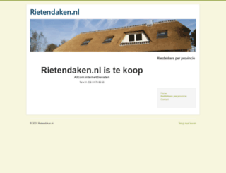 rietendaken.nl screenshot