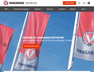 rietmeyeroccasions.nl screenshot