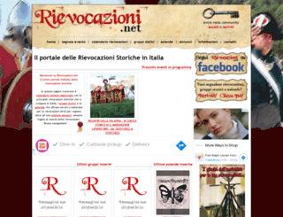 rievocazioni.net screenshot