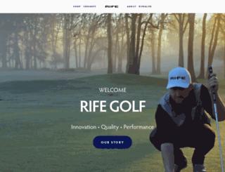 rifeputters.com screenshot