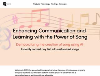 riffit.com screenshot