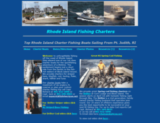 rifishingcharter.com screenshot