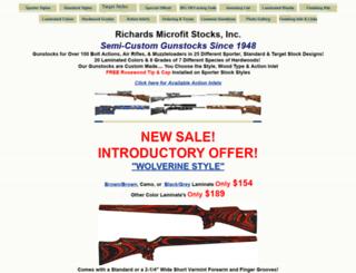 rifle-stocks.com screenshot