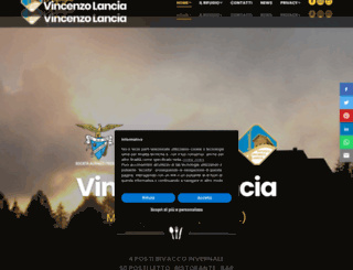 rifugiolancia.it screenshot