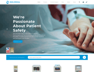 rigelmedical.com screenshot