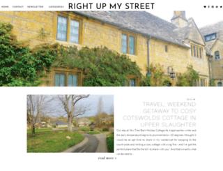 right-up-my-street.co.uk screenshot