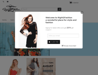 right2fashion.com screenshot