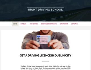rightdrivingschool.com screenshot
