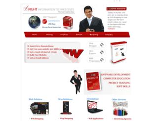 rightinfotechs.com screenshot