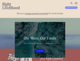 rightlivelihood.org screenshot