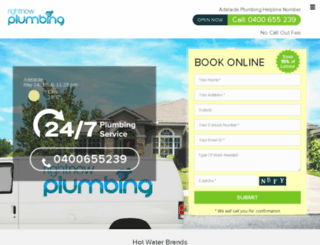 rightnowplumbers.com.au screenshot