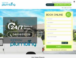 rightnowplumbing.net screenshot