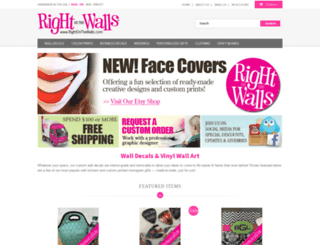 rightonthewalls.com screenshot
