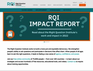 rightquestion.org screenshot