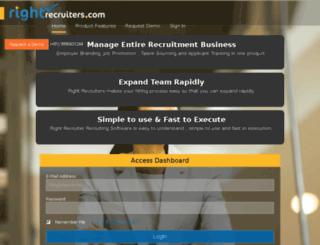 rightrecruiters.com screenshot