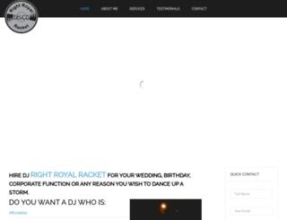rightroyalracket.co.nz screenshot